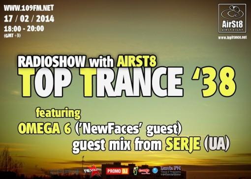TopTrance_38 109FM